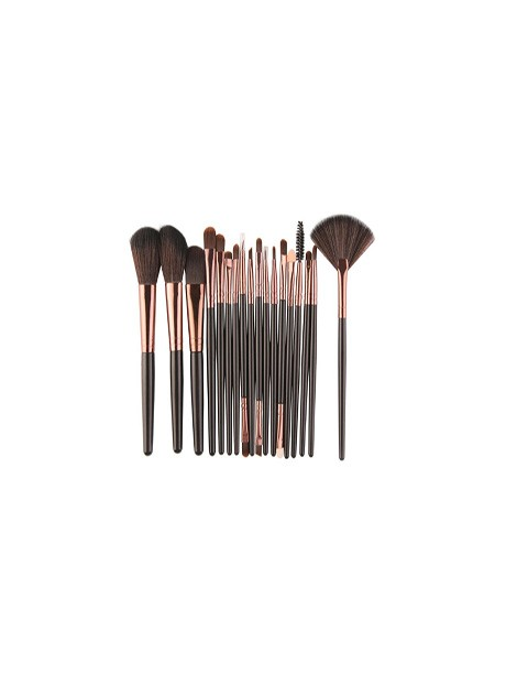18 teile/satz Make-Up Pinsel Kit Pulver Lidschatten Foundation Blush Blending